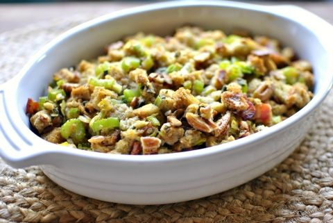 ... Pinterest | Chestnut stuffing recipe, Bacon and Simple stuffing recipe