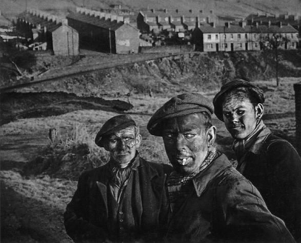 W. Eugene Smith - Three Generations of Welsh Miners  1950 #wales #cymru