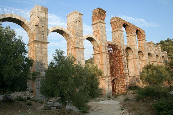 sightseeing on Lesvos