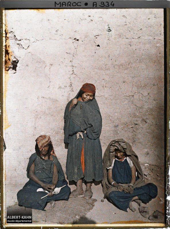 Recherche sur la femme marocaine