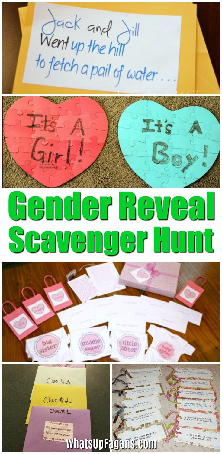 Ideas announcement. gender-reveal game baby creative sex announcement ideas