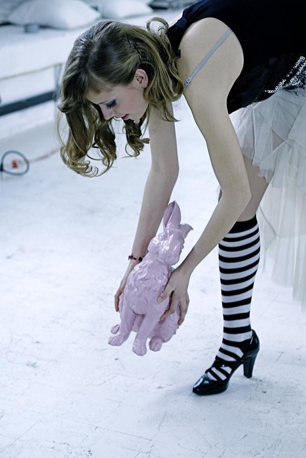 Pink bunny :)