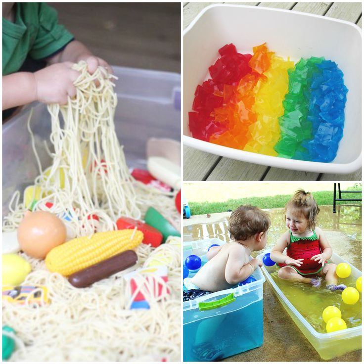 Sensory Tubs safe for toddlers