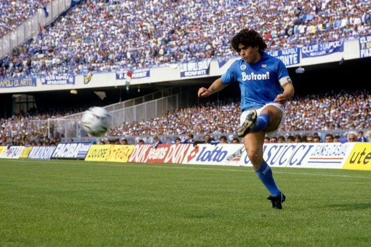 Maradona Rey de San Paolo