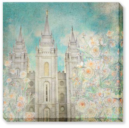 """""""Enlightened"""" Salt Lake Temple"""