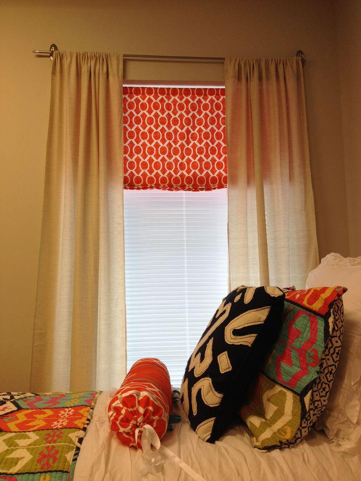 Wonderful MSU Dorm Room. Curtains And Bedding Decor Part 18