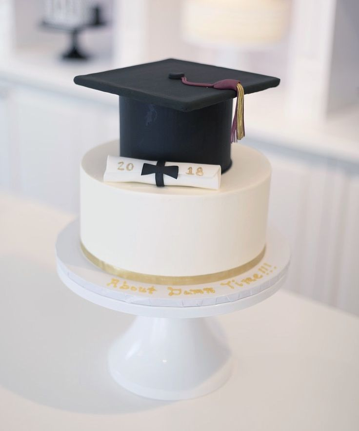 Black And Gold Graduation Cake Cupcakes And Special