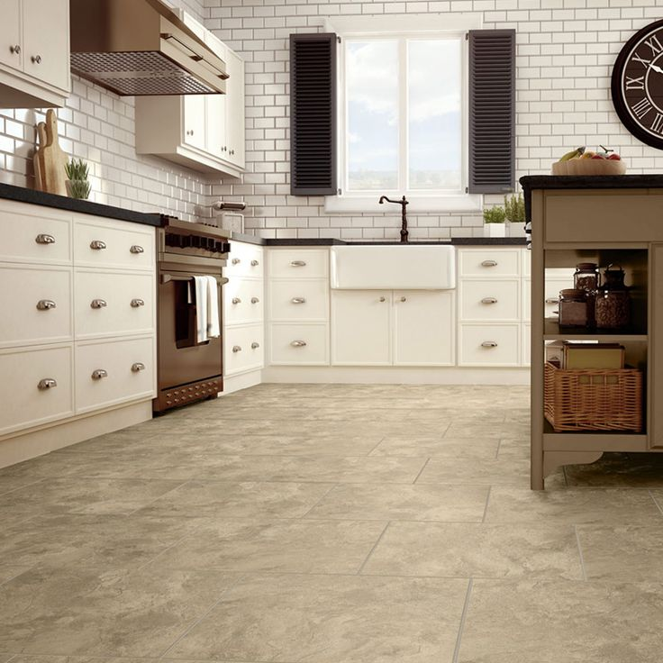 Luxury Vinyl Tile  Tuscan Slate. #UltraCeramic #AmericanBilrite #GVT  #Flooring #