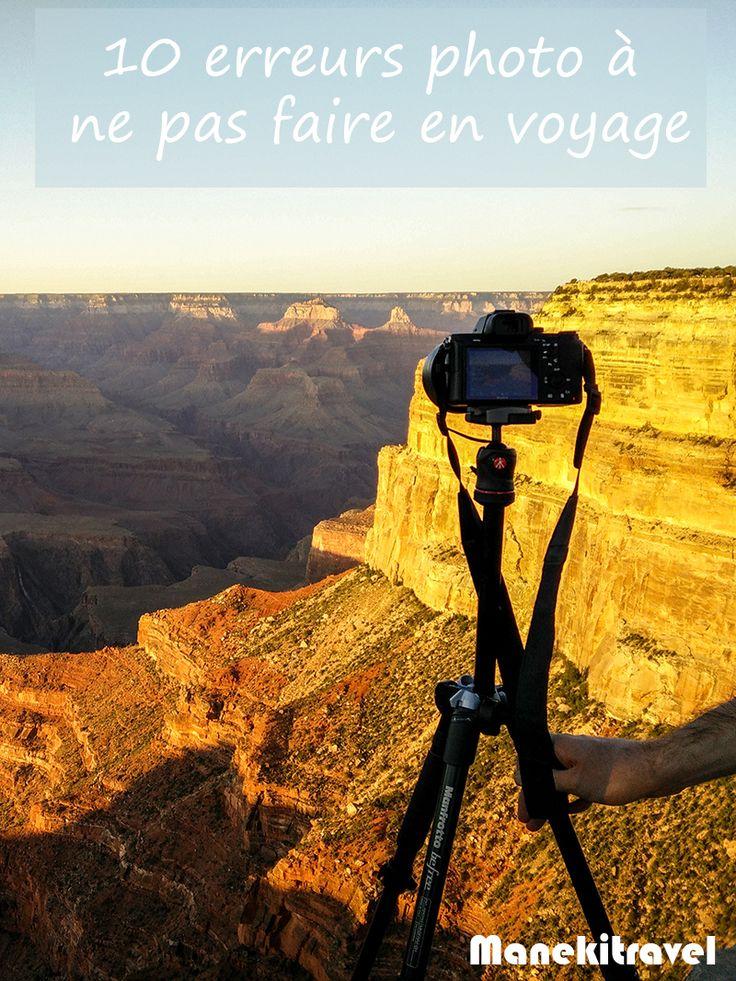 Voici un tour d'horizon des 10 erreurs photo à ne pas commettre lors d'un voyage. Comme on dit, une fois mais pas deux ! A bon entendeur...
