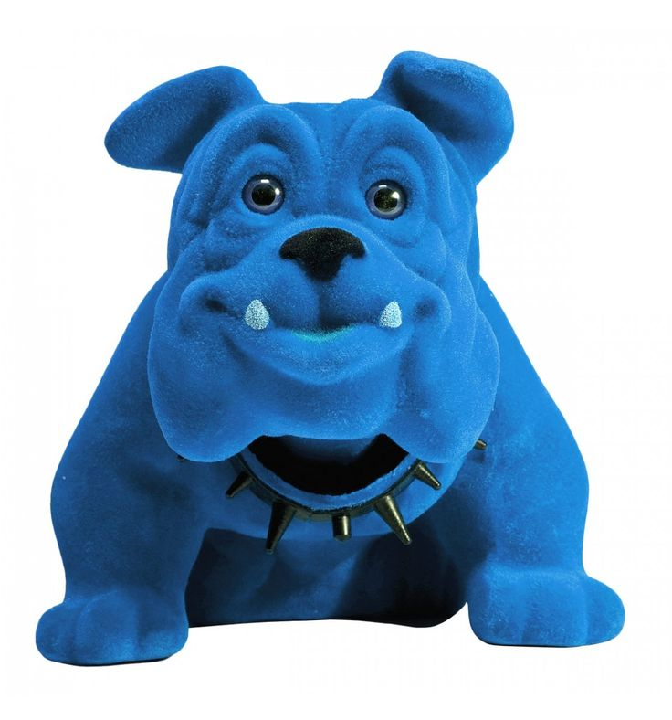 Figura Decorativa Swing Bulldog Blu Kare Design