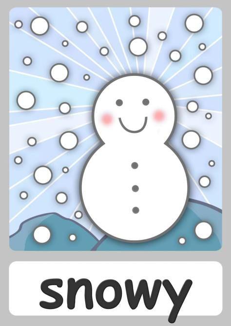 snowy-flashcard