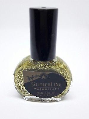 Jofrika Glitzer Nagellack GlitterLine Masquerade in gold, NEU