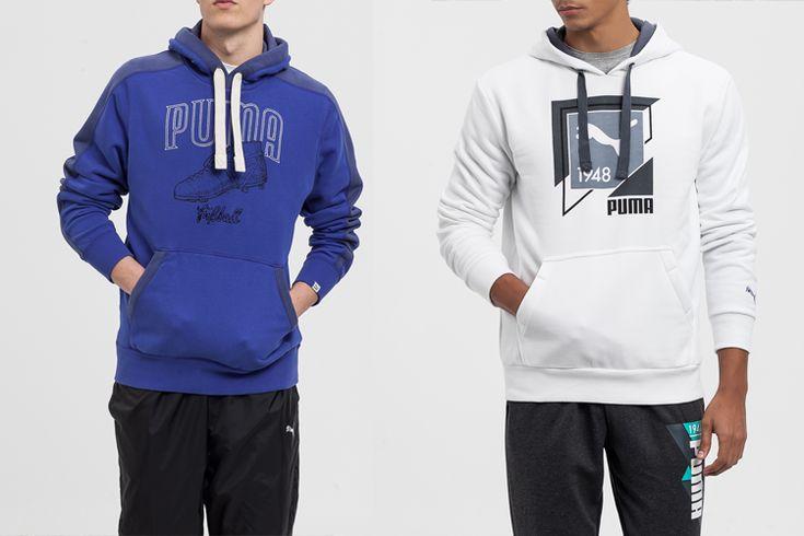Sudaderas de Puma para hombre en Primeriti.es http://stylelovely.com/primeriti/2016/02/22/puma-ropa-deportiva/