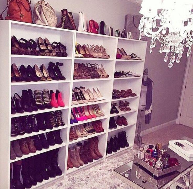 Mejores 8 imágenes de closets en Pinterest   Armario de zapatos ...