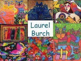 Leuke en informatieve powerpoint over Laurel Burch voor 5, deze en nog vele…