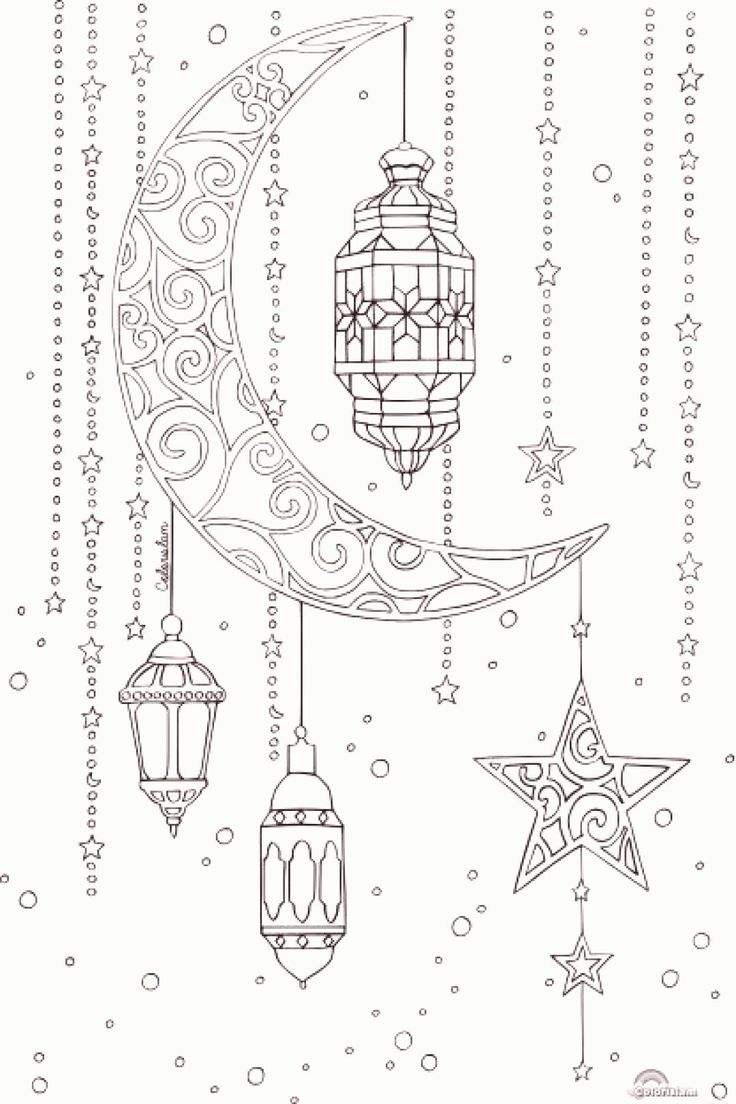 36++ Ramadan coloring pages free printables ideas