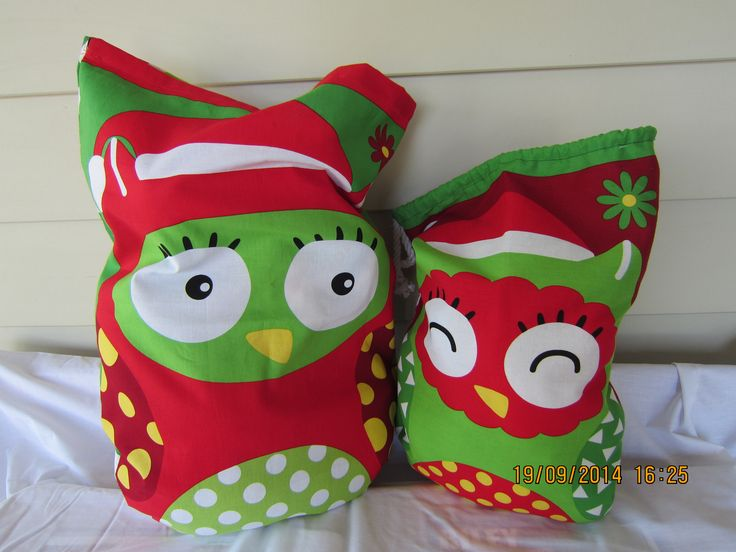 Medium Owl (W 31 cm x H 43 cm) - $19.95 Large Owl (W 37 cm x H 53 cm) - $24.95