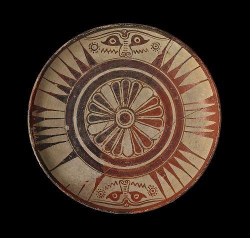 Plate, East Greek, Miletus, Kamiros, 600BC (circa)
