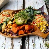 vegan spicy quinoa bean burrito bowl