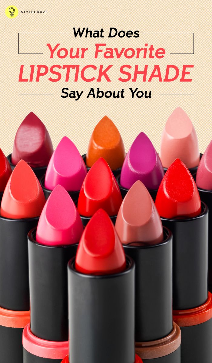 What Does Your Favorite Lipstick Shade Say About You