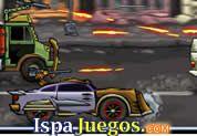 Juego de Dead Paradise | JUEGOS GRATIS: Todo como una día normal, manejando por la ciudad pero derrepente una bomba estallo y todo cambio, ahora jugaras un juego donde esta relacionado carros, acción, disparos y muchas explosiones, maneja tu auto con cuidado y trata de eliminar a todos los enemigos que veas en el camino, no dejes que te destruyan http://www.ispajuegos.com/jugar6686-Dead-Paradise.html