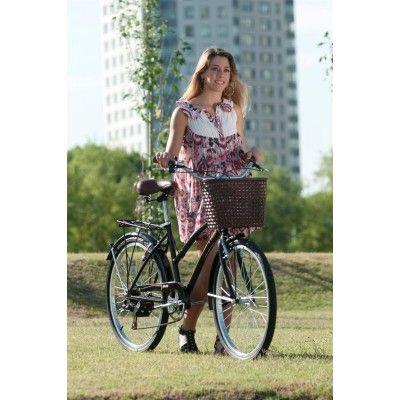 Bicicleta Olmo Amelie Full Negra: un clásico elegido siempre