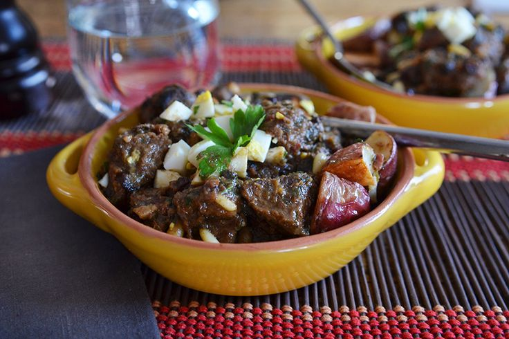 Beef Stew from Pamplona