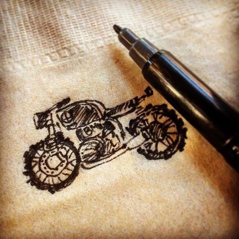 drawing  #bmwmotorrad #r65 #r75 #r100 #bmwbike #bmwmotorcycle #bmwclassic #classicbike #classicmotorcycle #tunnelvision