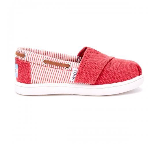 Παιδικό Παπούτσι TOMS Κόκκινο Ριγέ