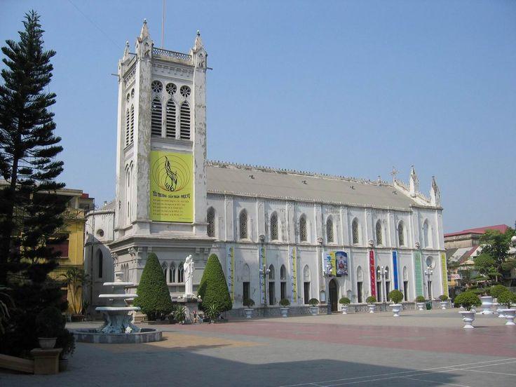 Hai Phong Cathedral in Hai Phong, Vietnam