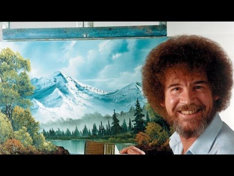 Resim Sevinci -The Joy of Painting with Bob Ross #3 - YouTube
