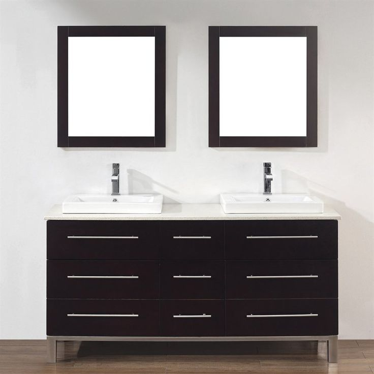 Gallery For Photographers Sagehill Designs Toby Modular Double Bathroom Vanity with Drawers TBD No Countertop