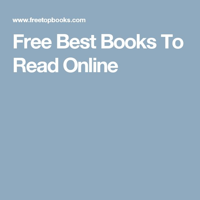 Free Best Books To Read Online
