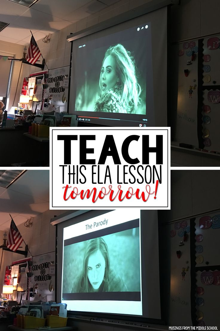 Looking for an engaging lesson to teach tomorrow! Your students will love writing song parodies!! Check out my blog post to see how I do it :)