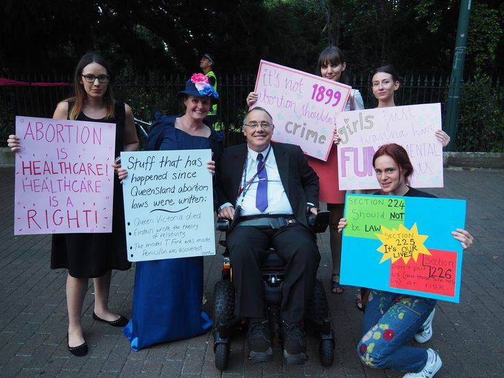 Historic Commitment for 'A Woman's Right to Choose' in Queensland. - Rob Pyne MP