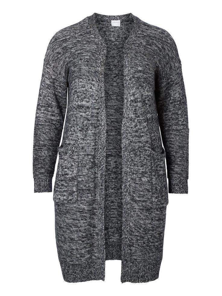 Long knitted plus size cardigan from JUNAROSE #junarose #plussize #cardigan #backtoreality