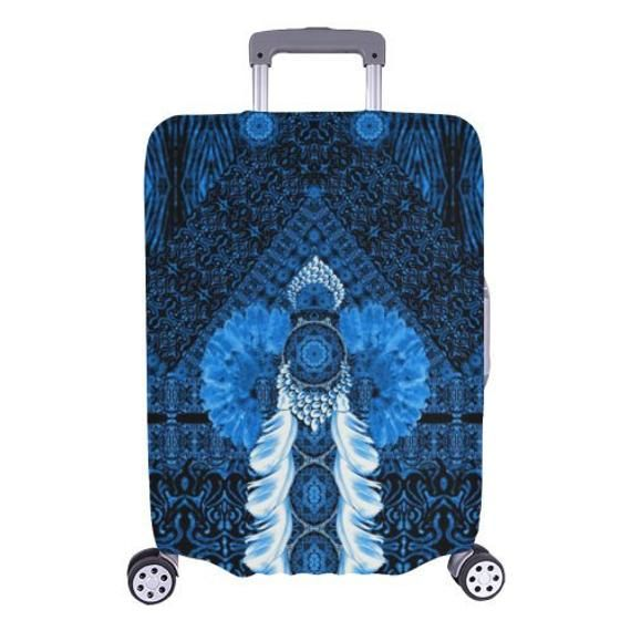luggage cover-Designer luggage cover-special travel-original gift-custom possible