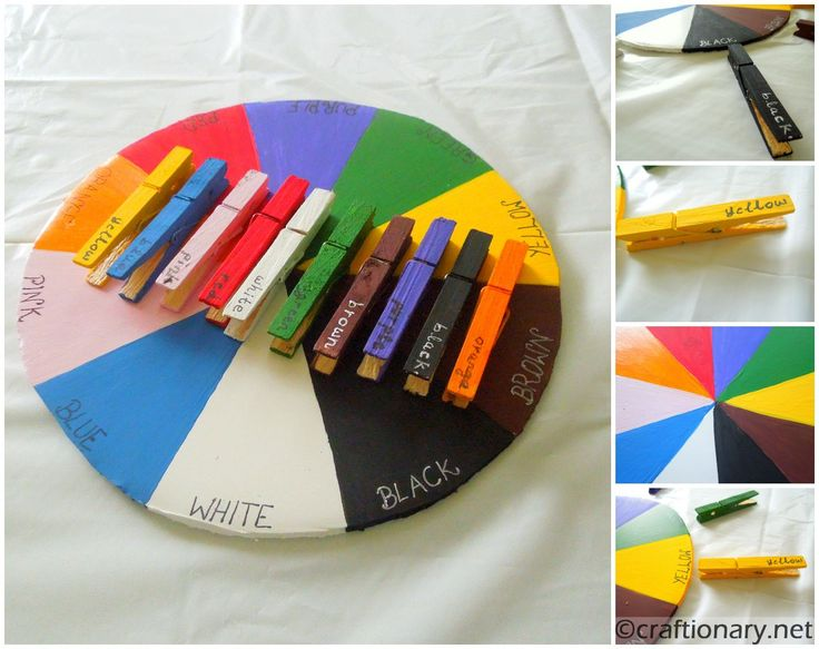 Color Wheel (Teaching kids colors) - this is a craft website that helps with the development of an idea. It has the steps on how to do the craft along with the list of supplies. Great for preK through first