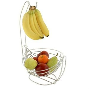 product image: Fruits Basket, Bowls Baskets, Baskets Bowls, Fruit Bowls, Bananas Hooks, Hooks Combos, Fruit Baskets, Kitchens Fruit, Stainless Steel