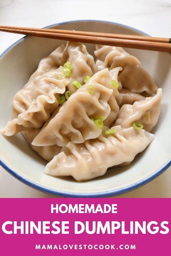 Chinese Dumplings Recipe Recipe In 2020 Easy Dumplings Recipe Dumplings Recipe Chinese Pork And Cabbage Dumpling Recipe