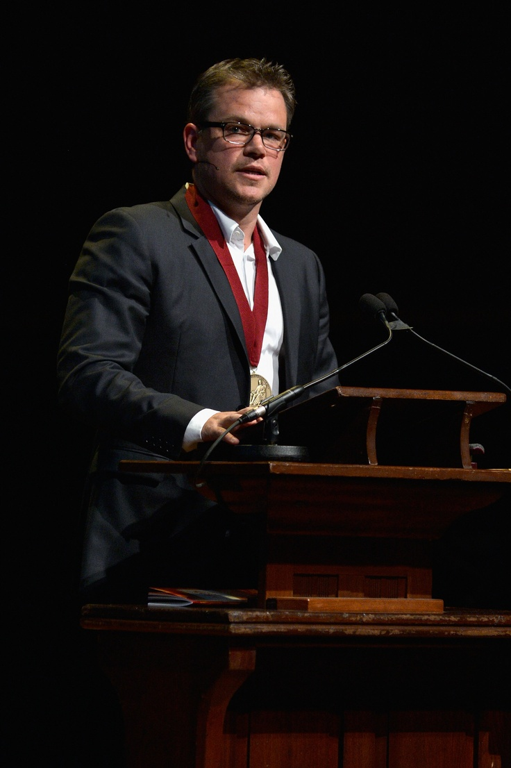 Matt Damon Returns to His Alma Mater (Harvard) For a Special Award | Check it out!