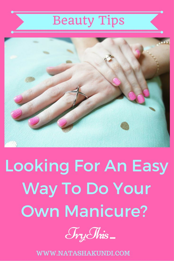 The 25 best how to do manicure ideas on pinterest diy perfect how to give yourself a perfect manicure solutioingenieria Image collections