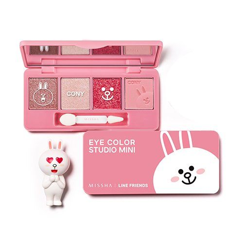 MISSHA Eye Color Studio Mini 1 CONY Pink [Line Friends Edition] * Visit the image link more details.