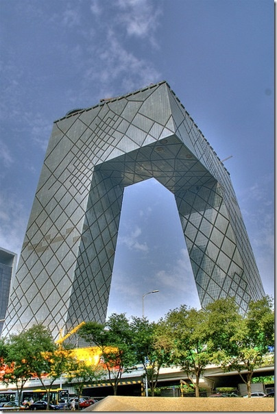 China Central Television HQ by Rem Koolhaas