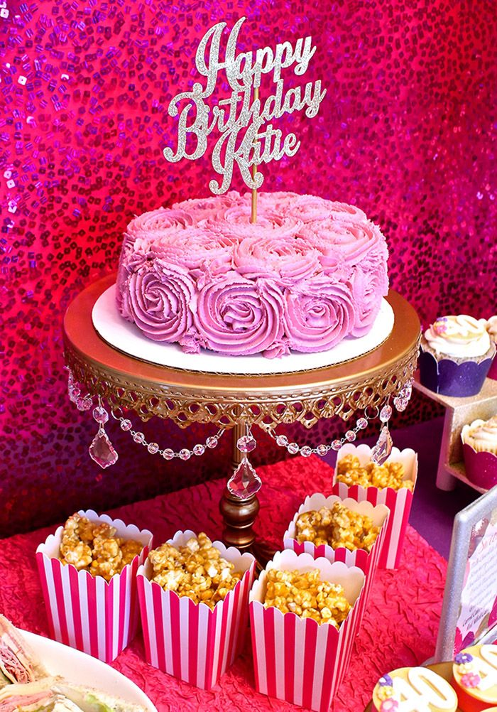 Celebrate a special birthday with a beautiful dessert table