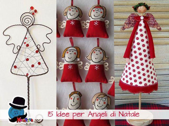 15 Angeli per un Natale in festa [raccolta]   Kreattivablog