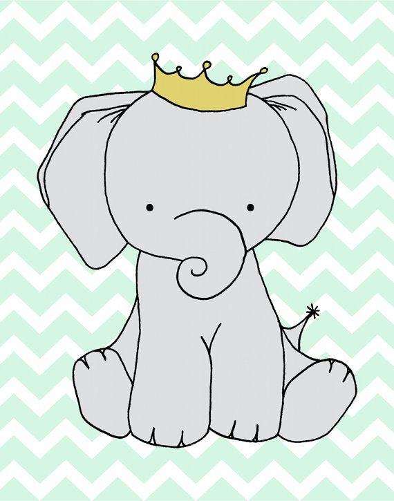 Custom Listing Elephant Nursery Art  Nursery by SweetMelodyDesigns, $10.00