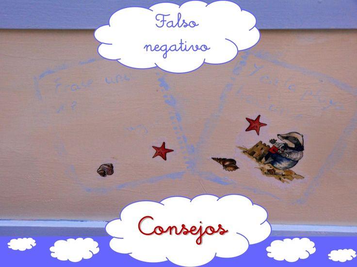 Falso negativo - Consejos by Caridad Yáñez Barrio via slideshare