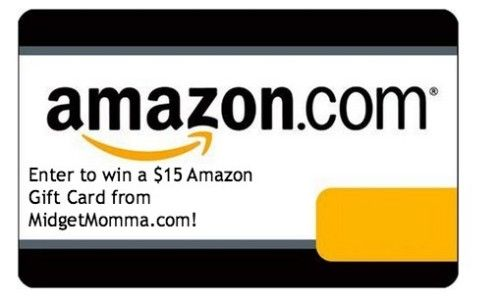 $15 Amazon Gift Card Flash Giveaway!! - MidgetMomma....One Short Momma, Never Short on the Good Stuff