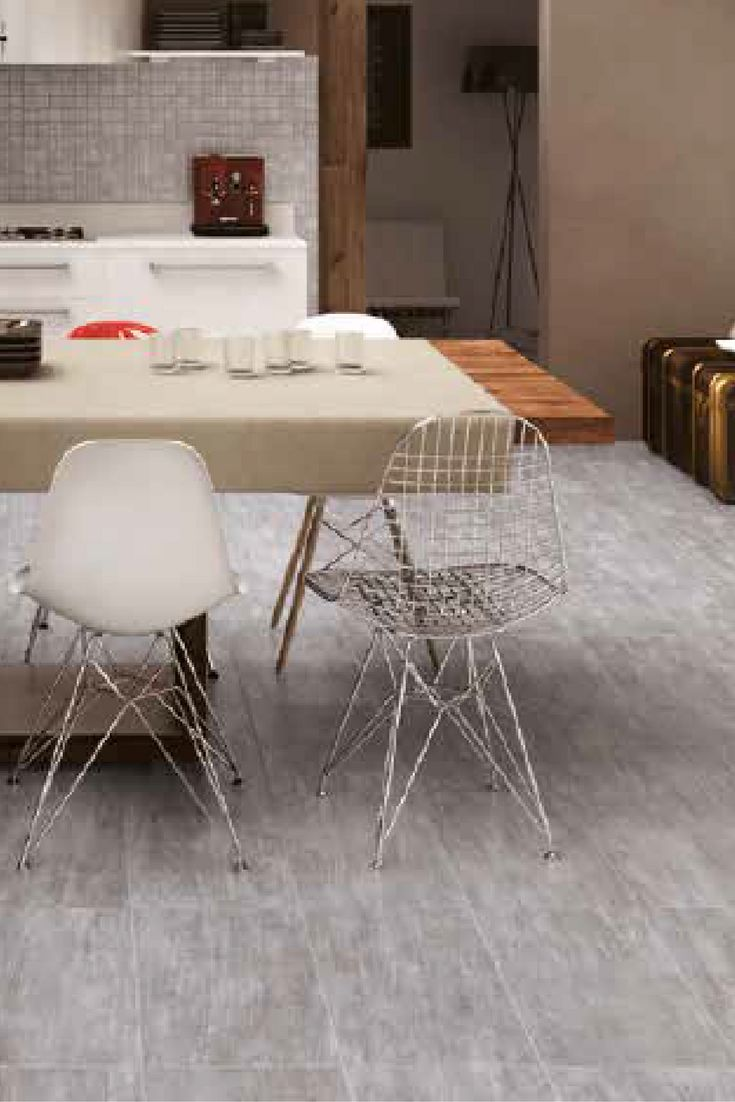 Industrial design meets contemporary design with these Oxy Oxidized Metal floor tiles. Find them at Byrd Tile Distributors in Raleigh, NC. http://byrdtile.com/ #ByrdTile #floortiles #floordesign #industrial #commercialdesign